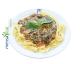 Tagliatelle mit Spinat-Frischkäse-Sauce